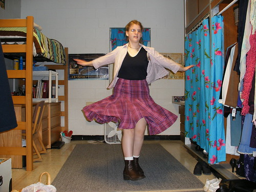 Twirly skirt!