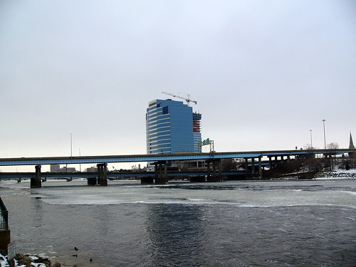 The Grand River, 29 January 2008