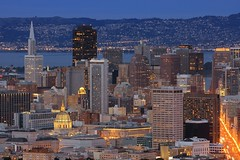 Sim SF (A Sutanto) Tags: sf sanfrancisco california ca city urban usa skyline night america skyscraper buildings lights evening twilight downtown dusk cityhall hometown marketstreet sfbay mywinners anawesomeshot diamondclassphotographer