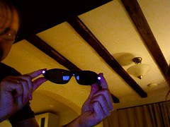 IR LED glasses