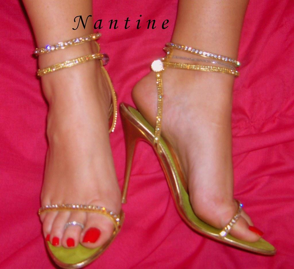 Baldinini Gold swarovski sandals   5   (54)