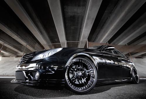 Mercedes CLS 55 on Sevas Wheels R55