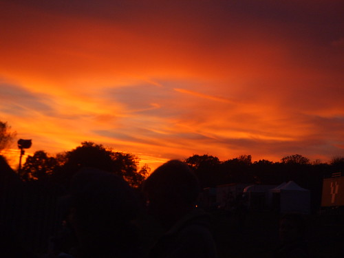 Sunset over Brands Hatch