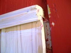 sloppy paint job