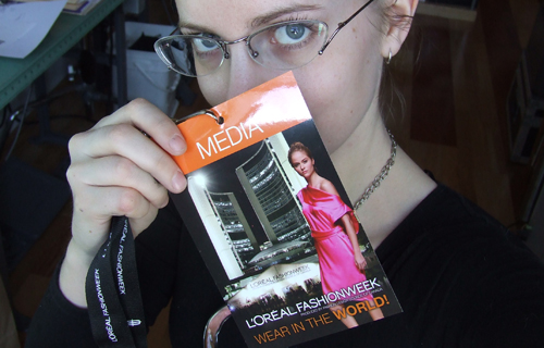 me and my media pass
