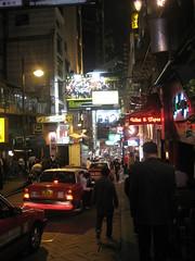 Views of Lan Kwai Fong