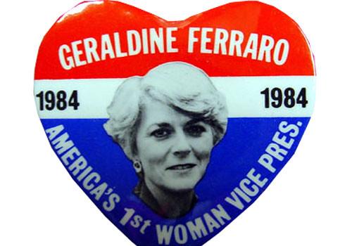 Geraldine Ferraro banner
