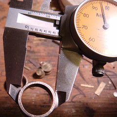Lloyds Ring 2 (downtothewiredesigns) Tags: calipers measurejewelrymetalringssterlingsilver
