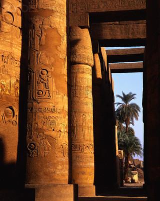 Gran Sala Hipóstila, Templo de Karnak, Egipto