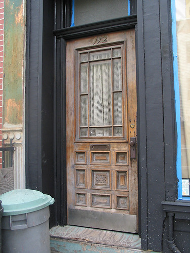 Wood Door, WIlliamsburg