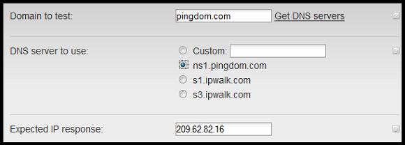 DNS check