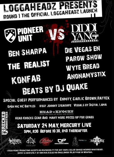Pioneer Unit VS. Diddi Yang Flyer (Back)