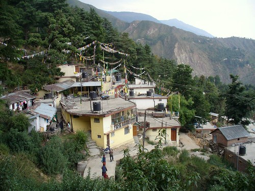 Paysage de Dharamsala