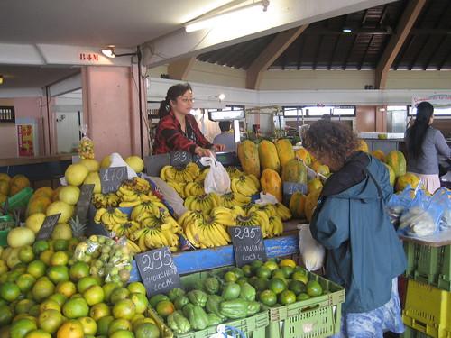 Market Shopping in Noumea
