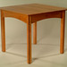 Cherry Breakfast Table with Walnut Inlay 4'l x4'w x 30