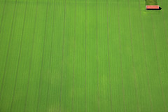 In the corner (Aerial Photography) Tags: green field by barn corner germany de bavaria graphic aerial line m agriculture fabulous obb colourlicious top20greenish flickrbestpics cerealfield gutlaufzorngdeoberhachinglkrmnchen