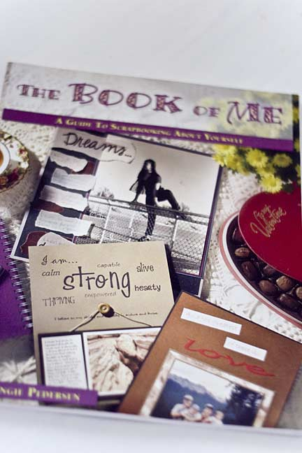 scrapbooking about yourself