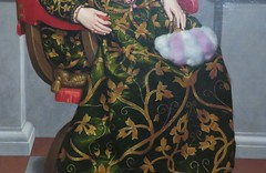 Moroni - Portrait of Isotta Brembati (c. 1553-53, detail) (Elisa1880) Tags: rijksmuseum twenthe enschede nederland netherlands in het hart van de renaissance heart exhibition tentoonstelling kunst art italy italie north noorditalie giovan battista moroni portret isotta brembati portrait