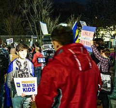 2017.02.22 ProtectTransKids Protest, Washington, DC USA 01112