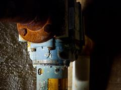 close (EYECCD) Tags: desktop old wallpaper color night rust pipe worn meter electrical 1920 backround gf1