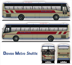 First Generation SR Exfoh on Davao Metro Shuttle Livery (pantranco_bus) Tags: bus art illustration design graphics drawing sr vector ud mindanao 151 152 nissandiesel philippinesbus davaometroshuttle exfoh  santarosamotorworks filippinen