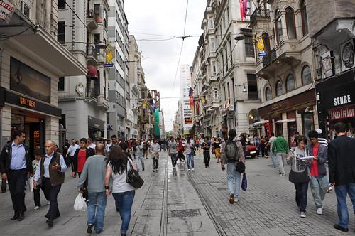 Istiklal Caddesi - Galatasaray
