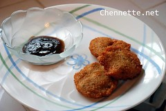 Kachories- with tamarind chutney