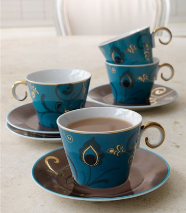 saphyre tea set