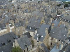 Dinan (David&Gina) Tags: france rooftops tiles slate dinan