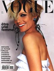 Vogue Paris Novembre 2001 (Ze Cali Fairy) Tags: fashion magazine model vogue cover ambervalletta mariotestino frenchvogue vogueparis vp822