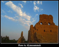 Heritage (almusammah) Tags: sky cloud heritage riyadh saudiarabia canong7 olddirriyah