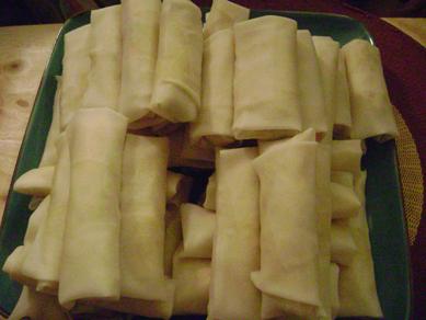 Filipino Food night