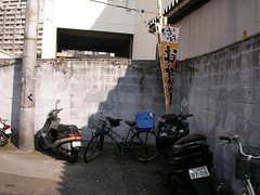 [渋谷]路地の曲がり角