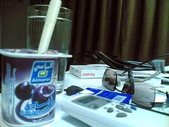 Almarai Yogurt - Black Cranberries (sevruth) Tags: black cranberries yogurt لذيذ اسود زبادي طعم خطير كرز almarai حلى روب المراعي
