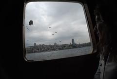 smiling (akositsirol) Tags: girl turkey istanbul ferryboat feribot iskelesi