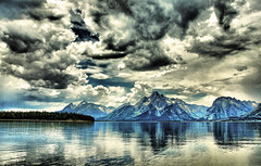 Storm Clouds at Colter Bay (Jeff Clow) Tags: summer lake storm nature clouds bravo natural wyoming jpeg colterbay grandtetonnationalpark magicdonkey pseudohdr 1exp nikond80 anawesomeshot dynamicphotohdr excellentscenic goldstaraward jeffrclow