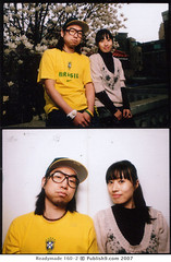 Newgun + Gary (KangHeeRhee) Tags: lighting portrait mamiya polaroid diptych couple fuji magnolia mamiya645 speedotron poloaroid fp100c 100c 645poloaroid savepolaroid