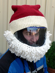 Santa Helmet on James