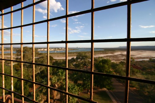 Port Augusta from the old Water Tower...