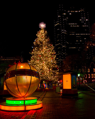 Sundance Square Christmas Tree