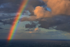 A Rainbow at Sea (Jeff Clow) Tags: ocean travel cruise sea vacation color rainbow bravo colorful searchthebest weekend getaway cruising caribbean traveling jpeg soe hdr nikkor18200mmvr 1exp abigfave anawesomeshot impressedbeauty onlythebestare dynamicphotohdr nikond300