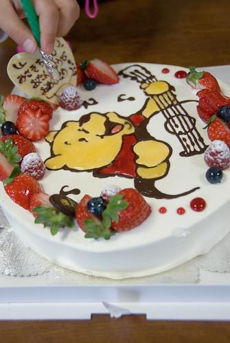みーたんお誕生日会のケーキ