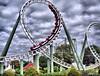 Big Loop in HDR (lady_ergrien) Tags: rollercoaster heideparksoltau singlejpghdr dphdr