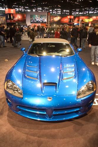 Autoshow blue star