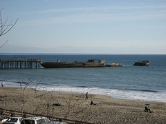 The legendary cement ship in Aptos, CA. (12/30/2007)