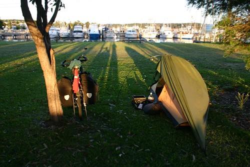 Bermagui wild camp...