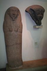 Granite lid of the sarcophagus of Setjau (nrares) Tags: greatbritain england london museum ancient europa europe britishmuseum ancientegypt anglia egipt muzeu londralondon egiptianart vacantalondon egiptulantic heritagekey