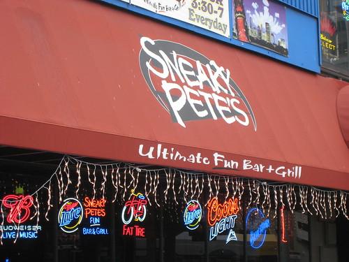 Sneaky Pete's - Ultimate Fun Bar + Grill