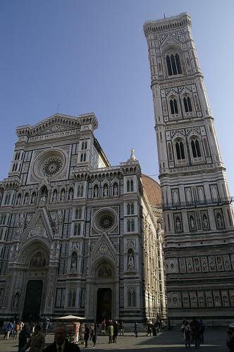 Catedral y Torre en Florencia