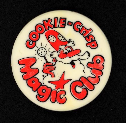 Cookie-Crisp Magic Club Button